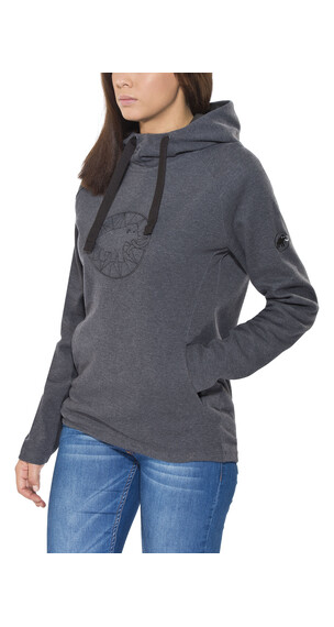 Mammut Logo ML sweater Dames zwart